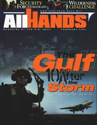 All Hands; February 2001 Volume 81, Issue 943 by Navy Department, Bureau of Navigation