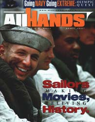 All Hands; April 2001 Volume 81, Issue 945 by Navy Department, Bureau of Navigation