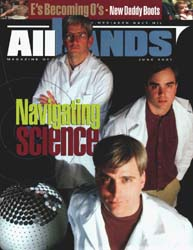 All Hands; June 2001 Volume 81, Issue 947 by Navy Department, Bureau of Navigation