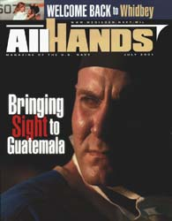 All Hands; July 2001 Volume 81, Issue 948 by Navy Department, Bureau of Navigation