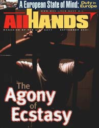All Hands; September 2001 Volume 81, Issue 950 by Navy Department, Bureau of Navigation