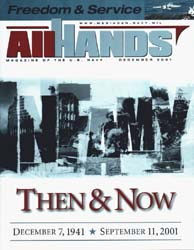 All Hands; December 2001 Volume 81, Issue 953 by Navy Department, Bureau of Navigation