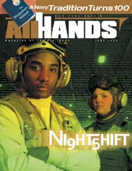 All Hands; June 2002 Volume 82, Issue 959 by Navy Department, Bureau of Navigation