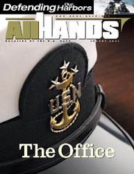 All Hands; August 2002 Volume 82, Issue 961 by Navy Department, Bureau of Navigation