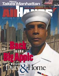 All Hands; September 2002 Volume 82, Issue 962 by Navy Department, Bureau of Navigation