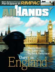 All Hands; December 2002 Volume 82, Issue 965 by Navy Department, Bureau of Navigation