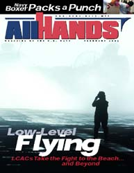 All Hands; February 2003 Volume 83, Issue 967 by Navy Department, Bureau of Navigation