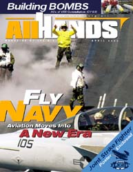 All Hands; April 2003 Volume 83, Issue 969 by Navy Department, Bureau of Navigation