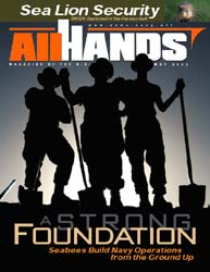 All Hands; May 2003 Volume 83, Issue 970 by Navy Department, Bureau of Navigation