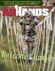 All Hands; August 2003 Volume 83, Issue 973 by Navy Department, Bureau of Navigation