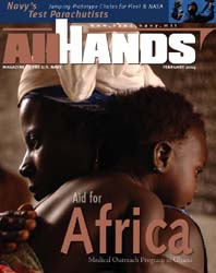 All Hands; February 2004 Volume 84, Issue 979 by Navy Department, Bureau of Navigation