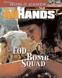 All Hands; April 2004 Volume 84, Issue 981 by Navy Department, Bureau of Navigation