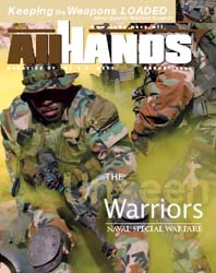 All Hands; August 2004 Volume 84, Issue 985 by Navy Department, Bureau of Navigation