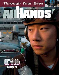 All Hands; October 2004 Volume 84, Issue 987 by Navy Department, Bureau of Navigation