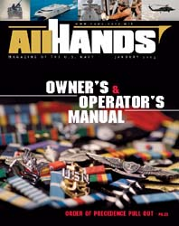 All Hands; January 2005 Volume 85, Issue 990 by Navy Department, Bureau of Navigation