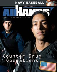 All Hands; February 2005 Volume 85, Issue 991 by Navy Department, Bureau of Navigation