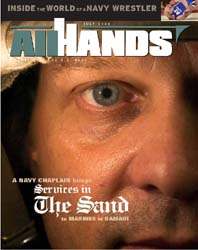 All Hands; July 2005 Volume 85, Issue 996 by Navy Department, Bureau of Navigation