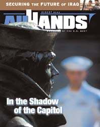 All Hands; August 2005 Volume 85, Issue 997 by Navy Department, Bureau of Navigation