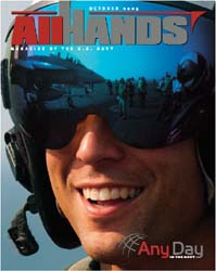 All Hands; October 2005 Volume 85, Issue 999 by Navy Department, Bureau of Navigation