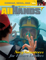 All Hands; December 2005 Volume 85, Issue 1001 by Navy Department, Bureau of Navigation