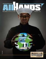 All Hands; January 2006 Volume 86, Issue 1002 by Navy Department, Bureau of Navigation