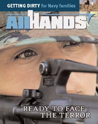 All Hands; February 2006 Volume 86, Issue 1003 by Navy Department, Bureau of Navigation