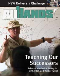 All Hands; March 2007 Volume 87, Issue 1016 by Navy Department, Bureau of Navigation