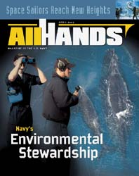 All Hands; April 2007 Volume 87, Issue 1017 by Navy Department, Bureau of Navigation