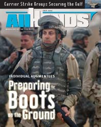 All Hands; July 2007 Volume 87, Issue 1020 by Navy Department, Bureau of Navigation