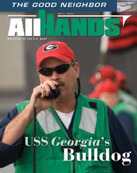All Hands; April 2008 Volume 88, Issue 1029 by Navy Department, Bureau of Navigation