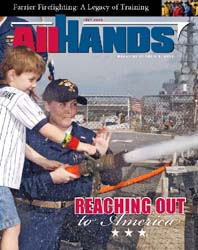 All Hands; July 2008 Volume 88, Issue 1032 by Navy Department, Bureau of Navigation