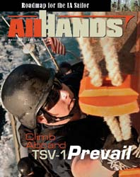 All Hands; August 2008 Volume 88, Issue 1033 by Navy Department, Bureau of Navigation