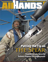 All Hands; March 2009 Volume 89, Issue 1040 by Navy Department, Bureau of Navigation