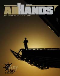 All Hands; October 2009 Volume 89, Issue 1047 by Navy Department, Bureau of Navigation