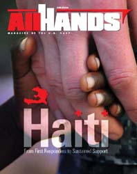 All Hands; March 2010 Volume 90, Issue 1052 by Navy Department, Bureau of Navigation