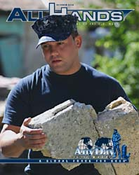 All Hands; October 2010 Volume 1, Issue 7 by Navy Department, Bureau of Navigation