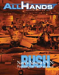 All Hands; November 2010 Volume 1, Issue 8 by Navy Department, Bureau of Navigation