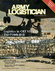 Army Logistician; January-February 2008 Volume 40, Issue 1 by Paulus, Robert D.