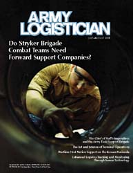 Army Logistician; July-August 2008 Volume 40, Issue 4 by Paulus, Robert D.