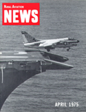 Naval Aviation News : April 1975 Volume April 1975 by U. S. Navy