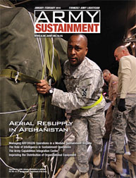 Army Sustainment; January-February 2010 Volume 42, Issue 1 by Paulus, Robert D.