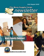 The Navy Supply Corps Newsletter : July-... by Adams, Kathy