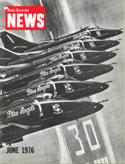 Naval Aviation News : June 1976 Volume June 1976 by U. S. Navy