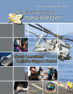 The Navy Supply Corps Newsletter : Novem... by Adams, Kathy