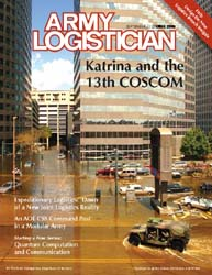 Army Logistician; September-October 2006 Volume 38, Issue 5 by Paulus, Robert D.