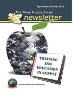 The Navy Supply Corps Newsletter : Septe... by Adams, Kathy