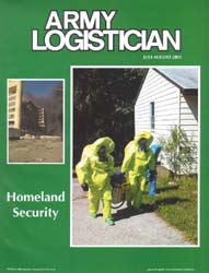 Army Logistician; July-August 2001 Volume 33, Issue 4 by Heretick, Janice W.
