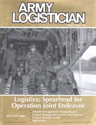 Army Logistician; March-April 1996 Volume 28, Issue 2 by Speights, Terry R.