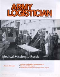 Army Logistician; May-June 1996 Volume 28, Issue 3 by Speights, Terry R.
