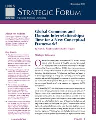 Global Commons and Domain Interrelations... Volume Strategic Forum 259; October 2010 by Hughes, Michael P.